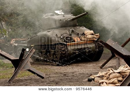Sherman Tank  - WW II