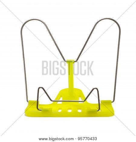Stand For Books On A White Background