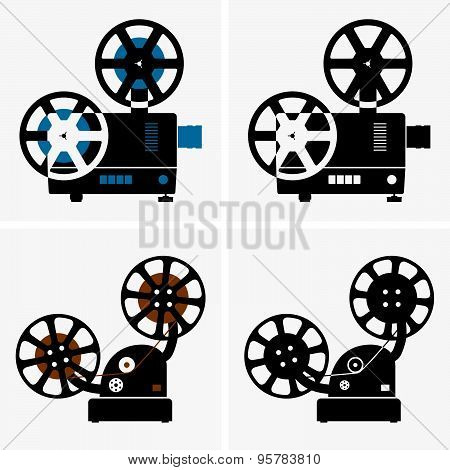 Motion picture projector
