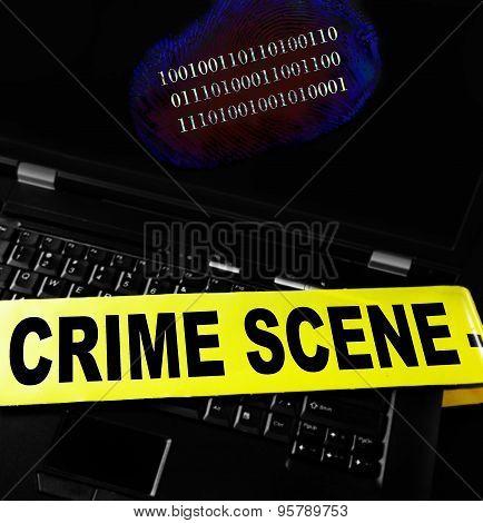 Computer Crime Print