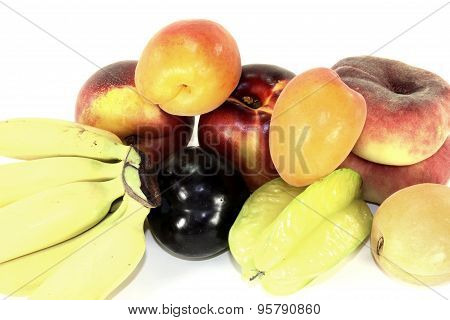 Various Colorful Fruits