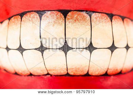 Painted Teeth