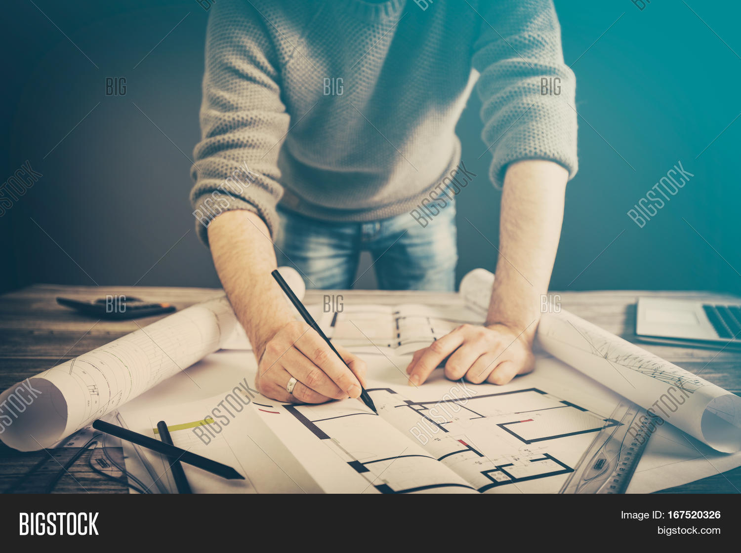 Architect architecture image photo free trial bigstock architect architecture drawing project blueprint office business working architectural construction design designer ruler table workplace concept malvernweather Choice Image