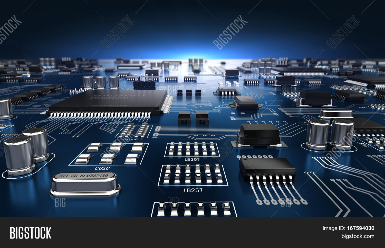 High Tech Electronic Image Photo Free Trial Bigstock Circuit Boards Pcb Printed Board With Processor And Microchips 3d Illustration