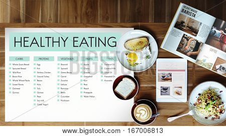 Healthy Eating Conceot