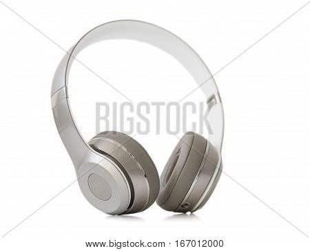 Picture of On-ear headphones isolated on white background