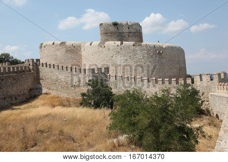 Old Kilitbahir Castle in Gallipoli Peninsula, Canakkale, Turkey.