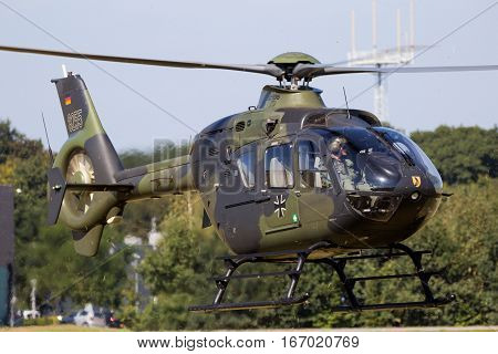 German Army Eurocopter Ec135 Helicopter