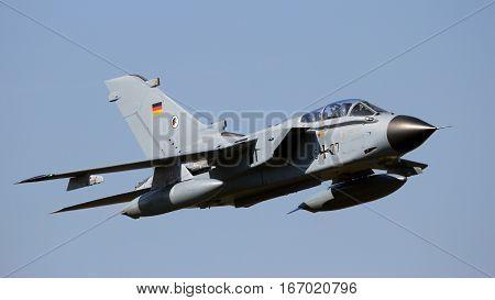 German Air Force Tornado Bomber Jet