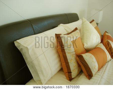 Fancy Orange Cushions