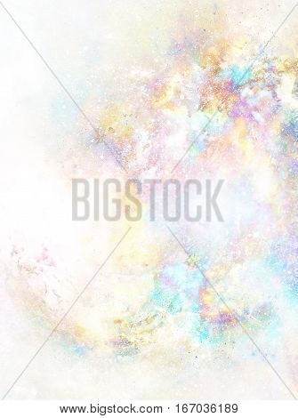 Cosmic space and stars, color cosmic abstract background. Copy space