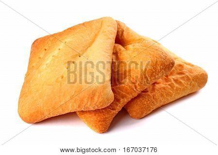 Three Potato Filled Pirozhki