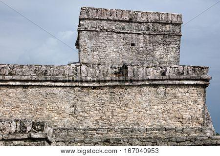 Pyramid El Castillo (the Castle) In Tulum