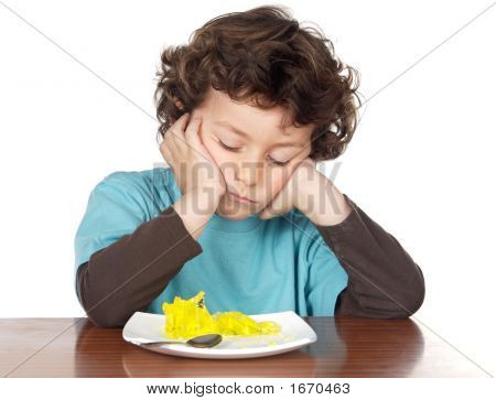 Child Eating Boring