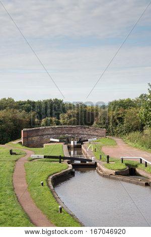 Tardebigge Locks or the Tardebigge Flight is the longest flight of locks in the UK.
