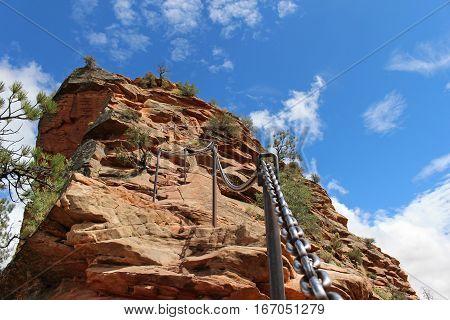Ascending the famous