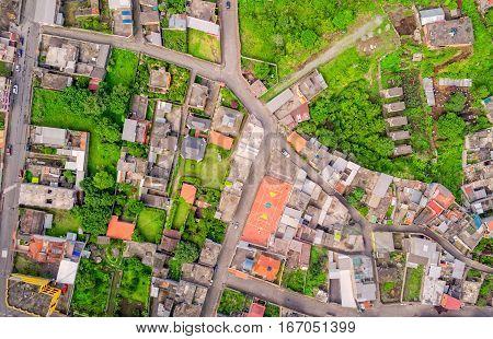 Banos De Agua Santa Cityscape Tungurahua Province South America