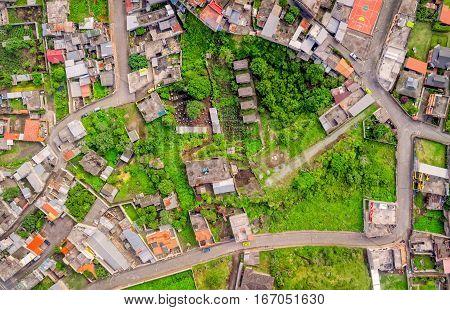 Residential Community Of Banos De Agua Santa Tungurahua Province South America