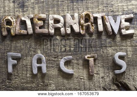Alternative facts concept