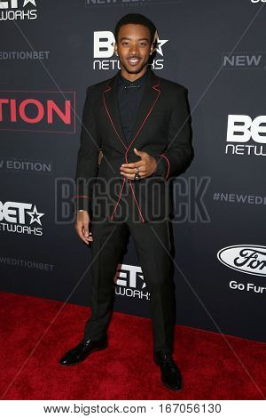 LOS ANGELES - JAN 23:  Algee Smith at the BET's
