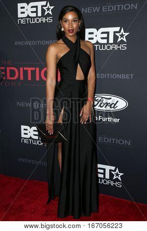 LOS ANGELES - JAN 23:  Krystal Harris at the BET's