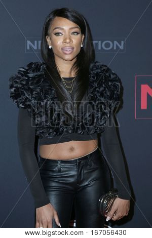 LOS ANGELES - JAN 23:  Lil Mama at the BET's