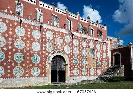 Convent Church Of Saint Dominic In Uayma, Mexico