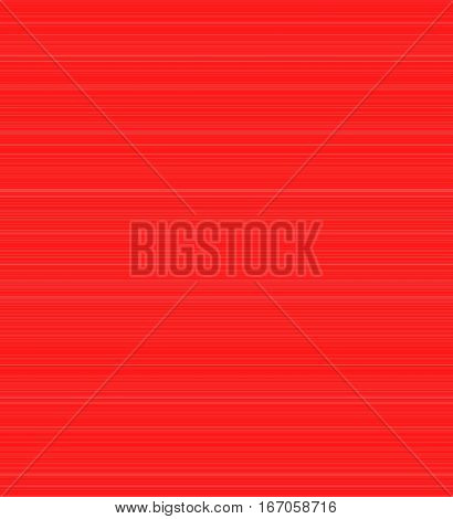 Red background with thin white stripes which can be oriented vertically or horizontally.
