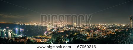 Cityscapes Of Pattaya.