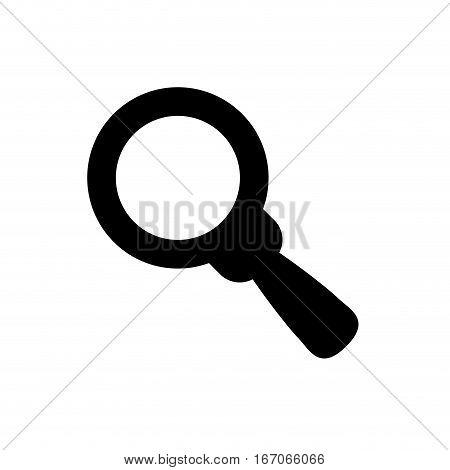 Black symbol search signal icon image, vector illustration