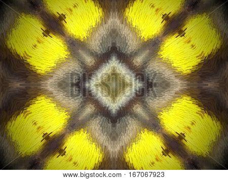 Extruded Squares Mandala