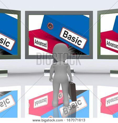 Advanced Basic Folders Screen Mean Program Features 3D Rendering