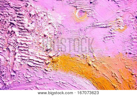 Textured Painting Abstract Painting.Creative abstract hand painted background. Rough Painting. Fragment of acrylic painting on canvas. Corrugated Painting. Abstract art background. Acrylic Painting.