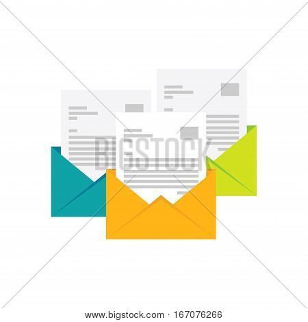 Email icon. E-mail flat design. Envelope symbol. Mail icon