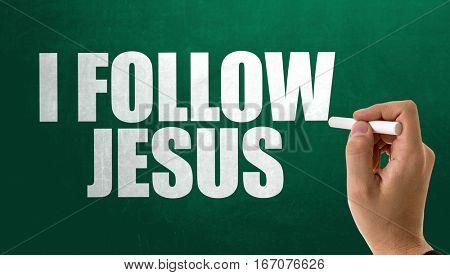 I Follow Jesus