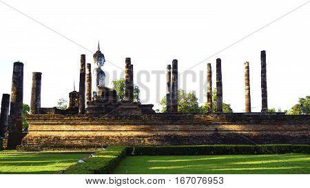 Historical Park Wat Mahathat Temple Bhudda Elevation