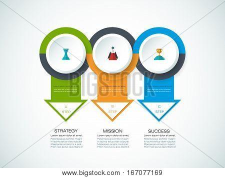 Vector Infographics Design Template  1-16-17