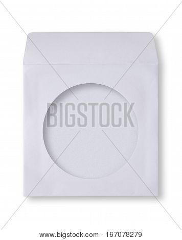 White Envelope For Cd Disk