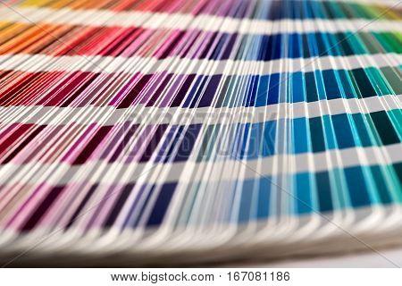 Colour Sampler Stripes
