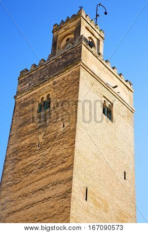 The History    Minaret Religion And  Blue    Sky