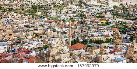 Cappadocia, Anatolia, Turkey. Open air museum - Goreme national park.