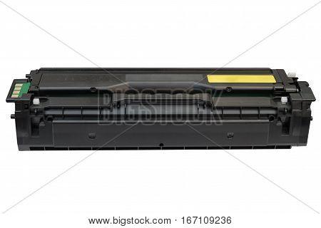 image of printer cartridge isolated on white background
