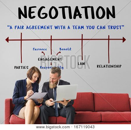 poster of Agreement Commitment Negotiation Contract Deal