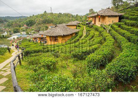 Ban Rak Thai, a Chinese settlement in Mae Hong Son province, Northern Thailand