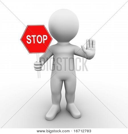 stop sign - Bobby Series