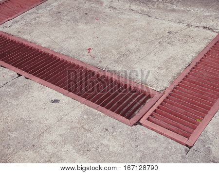 gutter cover by Red Grate Drainage street sewers Storm drain