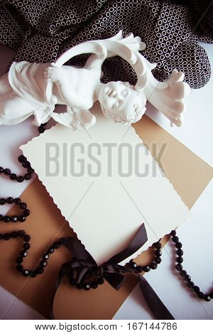 elegant background in neutral colors for sympathy card with epmty copy space