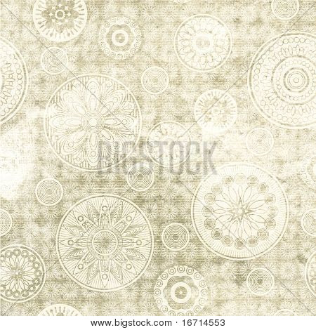 art floral ornament grunge background. To see similar, please VISIT MY PORTFOLIO.