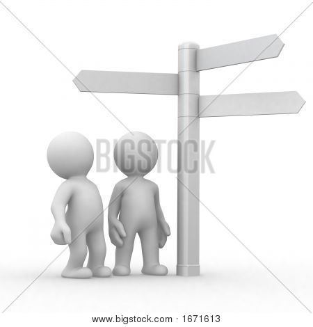 Choice And Directions Signs