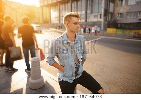 Stylish Man In The Street, Life Style